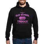 Pink - Old School Trekkie Hoodie (dark)