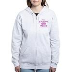 Pink - Old School Trekkie Women's Zip Hoodie