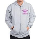Pink - Old School Trekkie Zip Hoodie
