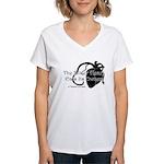The Bitter Heart Women's V-Neck T-Shirt