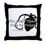 The Bitter Heart Throw Pillow