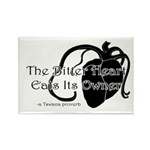 The Bitter Heart Rectangle Magnet (100 pack)