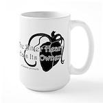 The Bitter Heart Large Mug