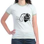 The Bitter Heart Jr. Ringer T-Shirt