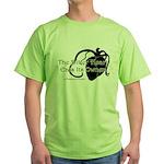 The Bitter Heart Green T-Shirt