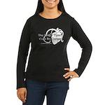 The Bitter Heart Women's Long Sleeve Dark T-Shirt