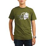 The Bitter Heart Organic Men's T-Shirt (dark)