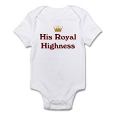 His Royal Highness Infant Bodysuit