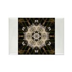 Queen Annes Lace I Rectangle Magnet