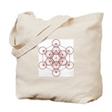 Metatron Cube Tote Bag