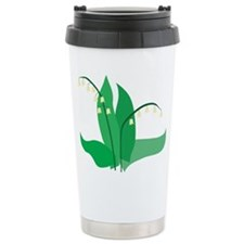 Lily of the Valley Ceramic Travel Mug