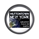 muttontown new york - greatest place on earth Wall