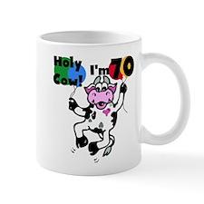 Holy Cow I'm 70 Mug