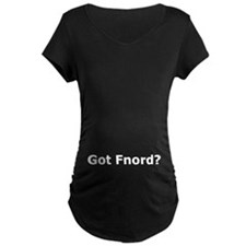 Got Fnord? Maternity T-shirt