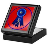 Blue Ribbon Dad Keepsake Box