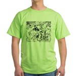 English Trumpeter Group Green T-Shirt