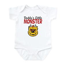 Daddy's Little Monster Infant Bodysuit