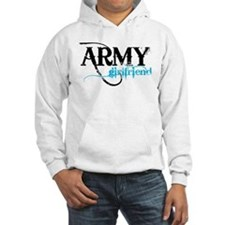 Light Blue Army Girlfriend Hoodie