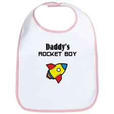 Daddy's Rocket Boy Bib