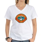 San Diego Fire Department Women's V-Neck T-Shirt