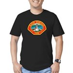 San Diego Fire Department Men's Fitted T-Shirt (da