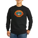 San Diego Fire Department Long Sleeve Dark T-Shirt