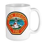 San Diego Fire Department Large Mug