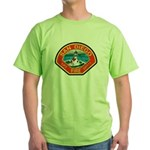 San Diego Fire Department Green T-Shirt