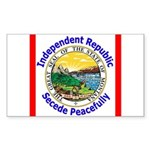 Montana-5 Rectangle Sticker 50 pk)