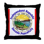 Montana-5 Throw Pillow