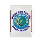 Texas-5 Rectangle Magnet (10 pack)
