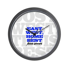 East West, Home Best Wall Clock