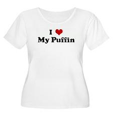 I Love My Puffin T-Shirt