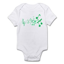 Musical Notes Onesie