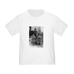 Marie & Pierre Curie Good Evil Toddler T-Sh