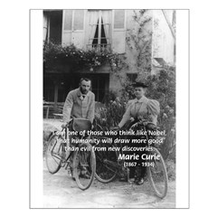 Marie & Pierre Curie Good Evil Posters