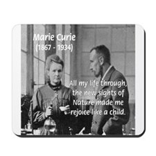 Marie Curie Physics Liberty Mousepad