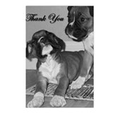 Thank You Boxer Dog Postcards (Package of 8)