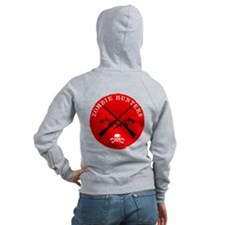 """Zombie Hunters Local 187"" Zip Hoodie"