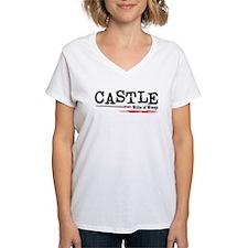 Castle-WoW Women's V-Neck T-Shirt