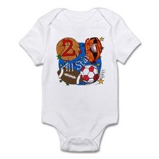 Sports 2nd Birthday Infant Bodysuit