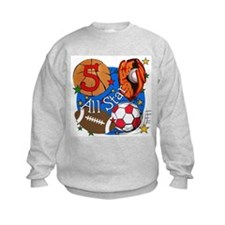 Sports 5th Birthday Sweatshirt