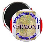 Vermont-3 Magnet