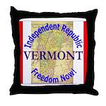 Vermont-3 Throw Pillow