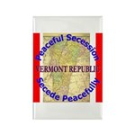 Vermont-1 Rectangle Magnet (10 pack)