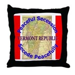 Vermont-1 Throw Pillow
