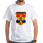 USS Belleau Wood LHA 3 US Navy White T-Shirt