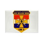 USS Belleau Wood LHA 3 US Navy Rectangle Magnet (1