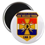USS Belleau Wood LHA 3 US Navy Magnet
