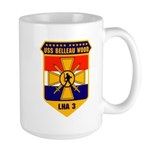 USS Belleau Wood LHA 3 US Navy Large Mug